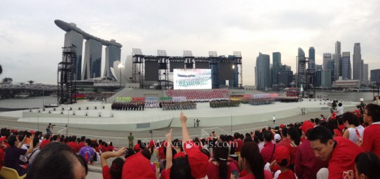 National Day Parade 2013, Singapore