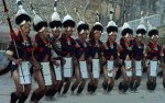 NAGA WARRIOR TRIBE DANCE, NAGALAND, NORTH EAST INDIA