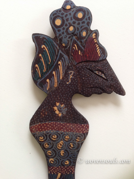 Wood Batik Art, Java, Indonesia