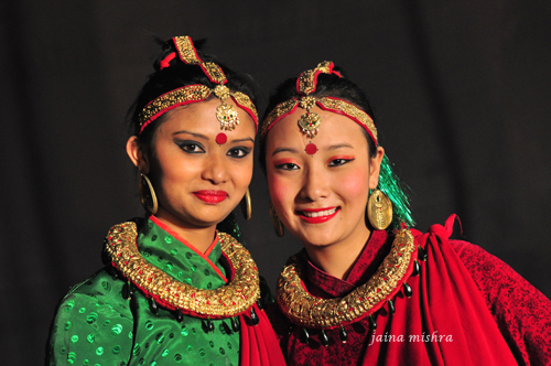 SIKKIM FOLK DANCERS