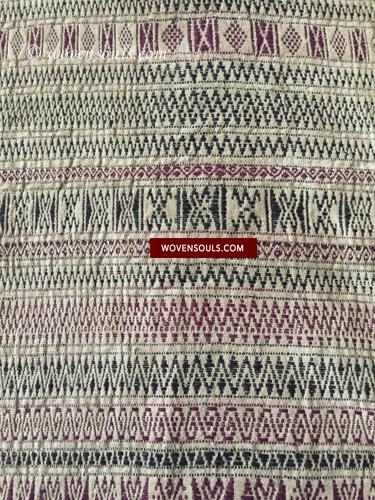 Antique Batak Shaman's headcloth Texile Weaving