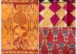 Note on Antique Phulkari Textile Art Punjab by Jaina Mishra