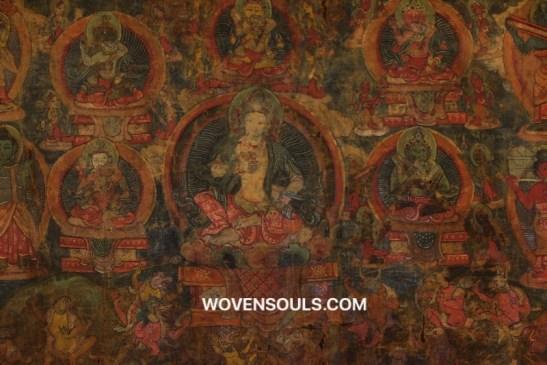 Antique Thangka Painting Art Wovensouls Art Gallery