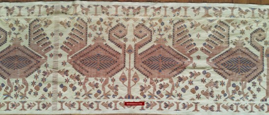 Old Lau Pahikung Textile Art from Sumba