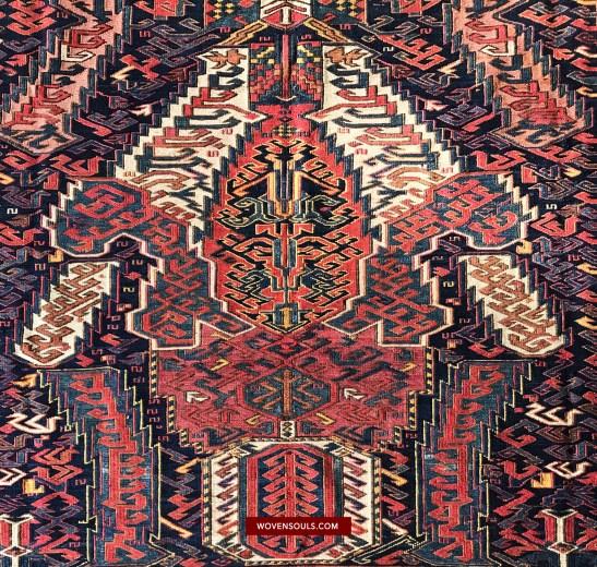 Antique Dragon Sumac Carpet