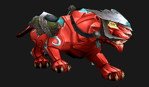 Onyx panther (red)