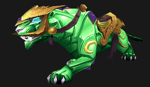 Onyx panther (green)
