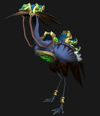 Crane mount (blue)
