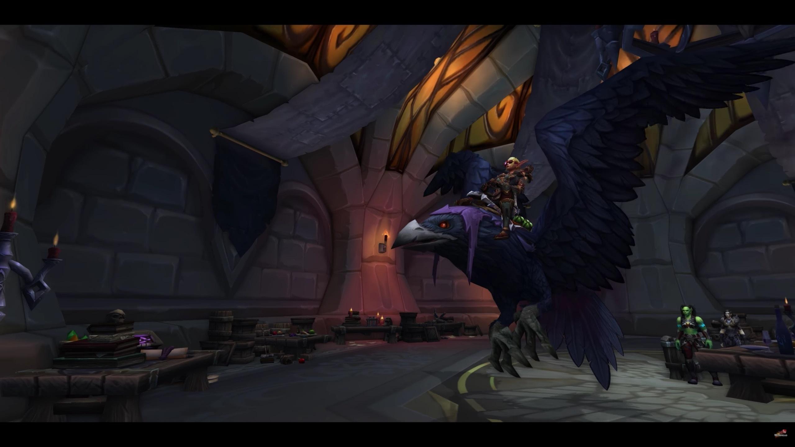 Rogue Class Mount And Quest Shadowblades Murderous Omen Wowhead News
