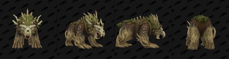 World of Warcraft: Kul'Tiran druid bear form found in Battle For Azeroth alpha