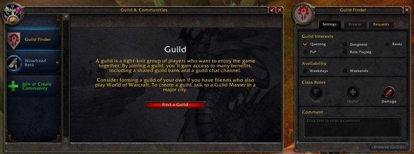If You Click On Find A Guild Menu Similar To The Finder Curly Live Will Show Up There Are No Changes Invite Ui As Of Build