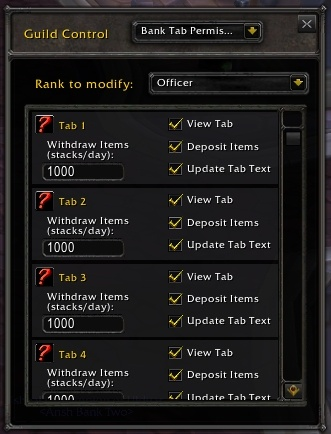 And The Possibility To Edit Guild Info Thankfully With Old Interface You Re Still Able Customize Each Rank Wver Permissions Need