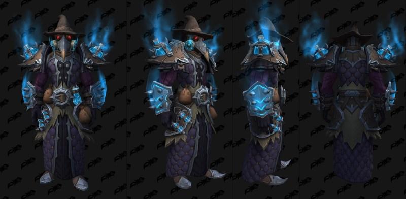 Cloth Castle Nathria Shadowlands Raid Armor Set 10