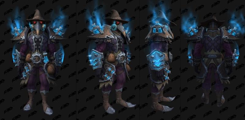 Cloth Castle Nathria Shadowlands Raid Armor Set 11