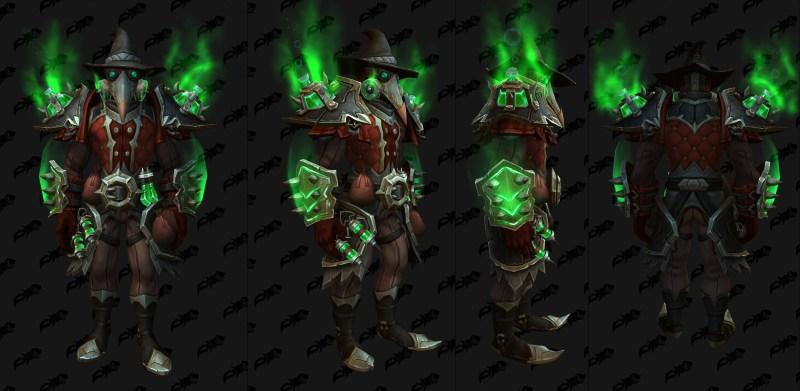Cloth Castle Nathria Shadowlands Raid Armor Set 12