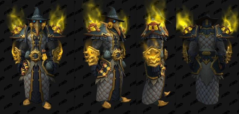 Cloth Castle Nathria Shadowlands Raid Armor Set 01