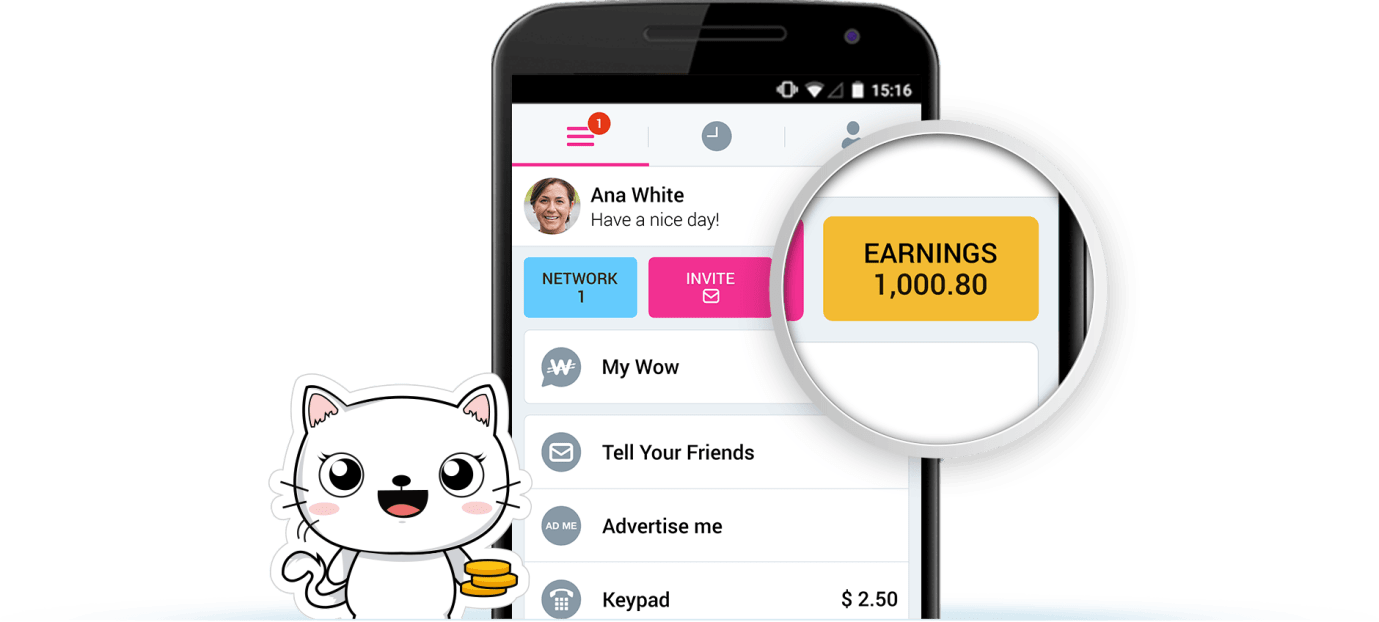 wowapp earnings