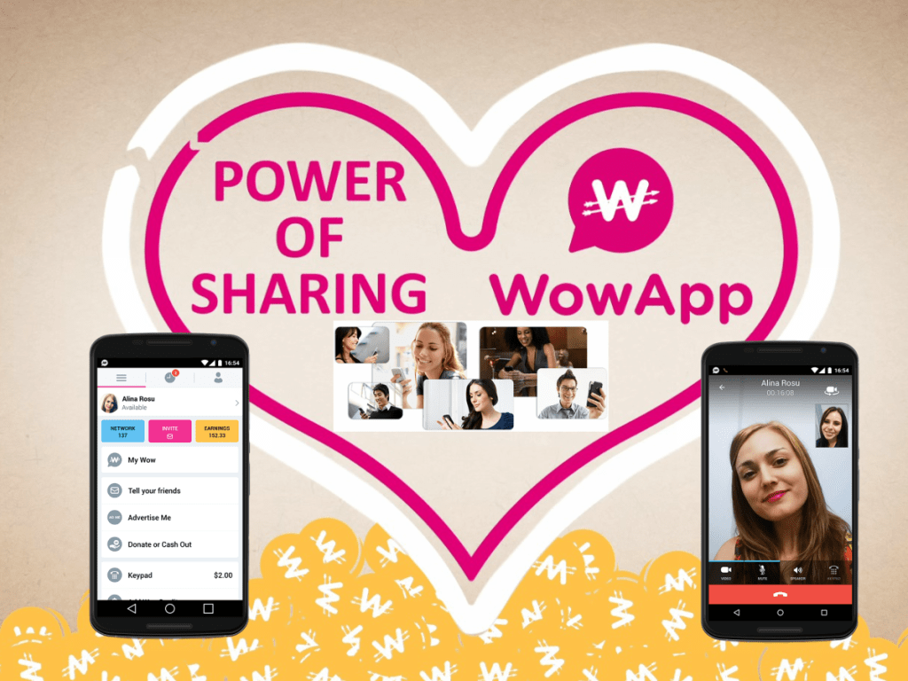 wowapp power of sharing