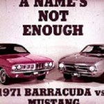 1971 Plymouth Dealer Promo Cuda vs. Ford Mustang Video