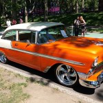 Chevrolet Bel Air Orange