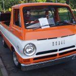 Dodge Van Orange