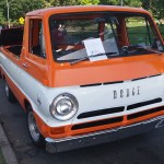 Dodge Van Orange