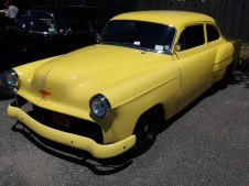 Custom Hot Rod Yellow