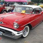 Red 1957 Oldsmobile Super 88