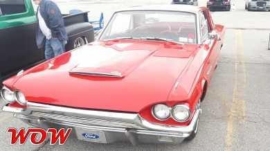 1964 Ford Thunderbird Red