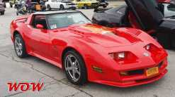 Chevy Coevette Custom Red