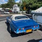 71 Chevrolet Corvette Convertible Blue 8