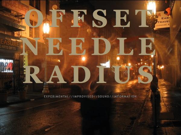 Offset Needle Radius