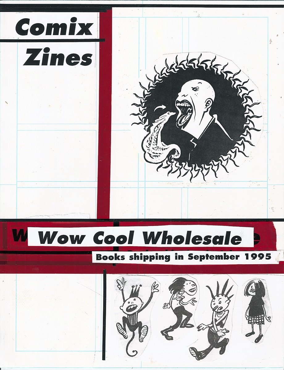 Wow Cool @25 Wholesale Catalog Boards 1995