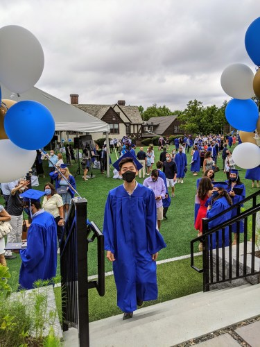 Max's Commencement 2020