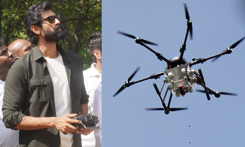Technology has come to the rescue to save the planet and fight deforestation: Baahubali and Aranya movie Fame Daggubati Rana
