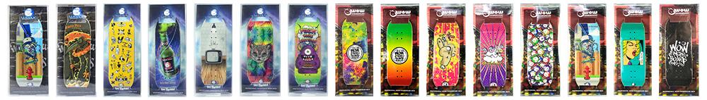 Wow Fingerboard Decks Series