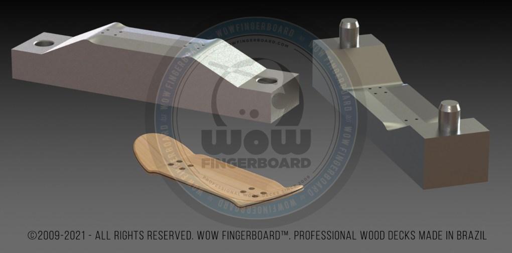 Wow Fingerboard Decks Making Production