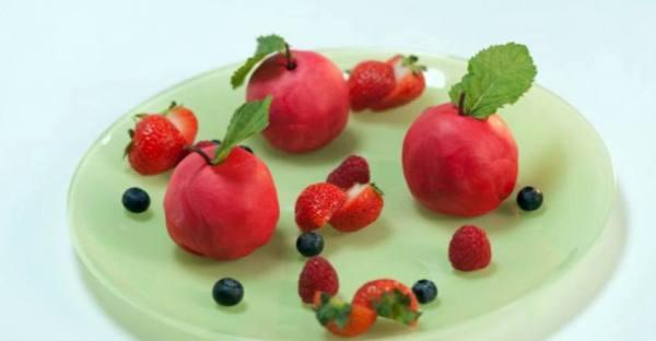 Пирожное «Райское яблоко» рецепт 👌 с фото пошаговый   Как ...