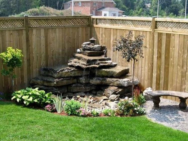 Admirable DIY Water Feature Ideas For Your Garden on Water Feature Ideas For Patio id=70010