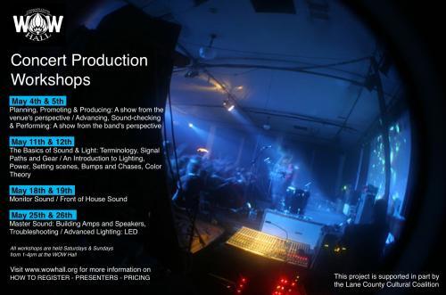 Concert Production Workshops: The Basics Of Sound & Light