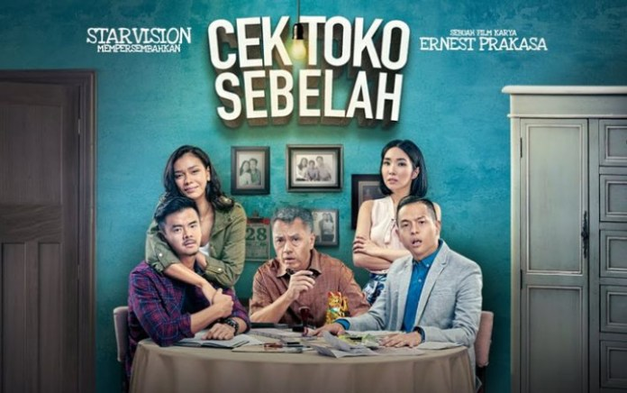 Cek Toko Sebelah' Jadi Film Indonesia Pertama yang Tayang di Bioskop China