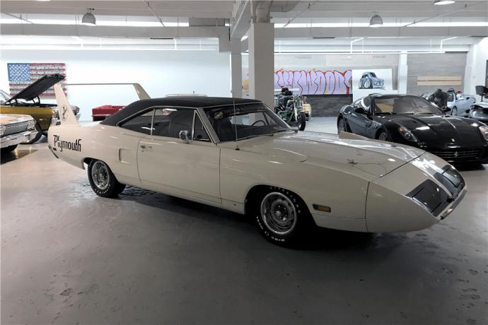 70 Plymouth Superbird White