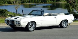 1969 Pontiac Firebird Convertible Trans Am