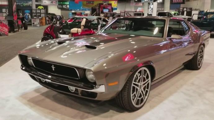 Mach Foose Mustang Front