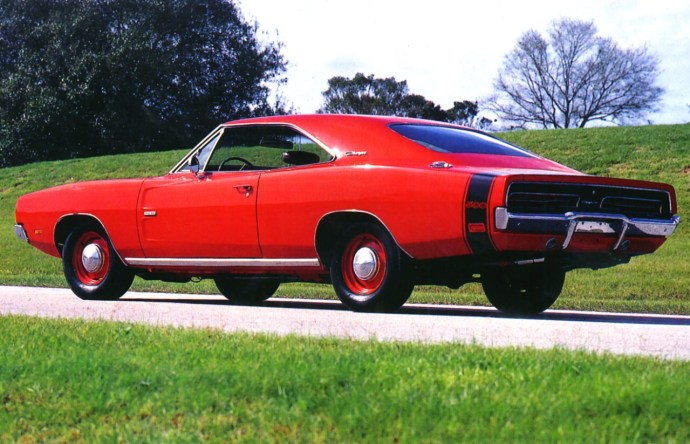 1969 Dodge Charger 500 Hemi Red