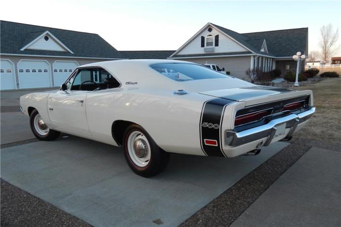 1969 Dodge Charger 500 Hemi White