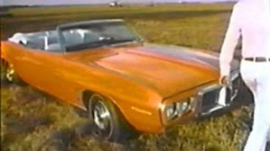 1969 Firebird TV Commercial