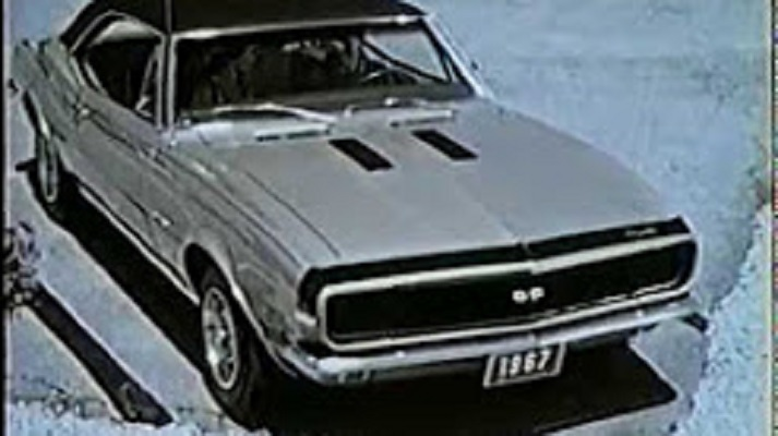 1967 Chevy Camaro At the GM Proving Grounds -Promotional Video