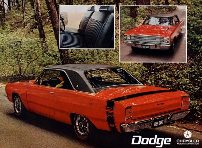 1969 Dodge Dart Swinger advertisement