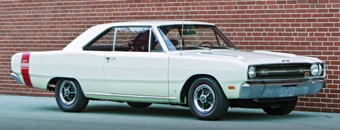 1969 Dodge Dart Swinger White
